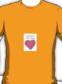 Jacob Whitesides Real Love T-Shirt
