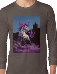 Western Mustang Tshirt Long Sleeve T-Shirt