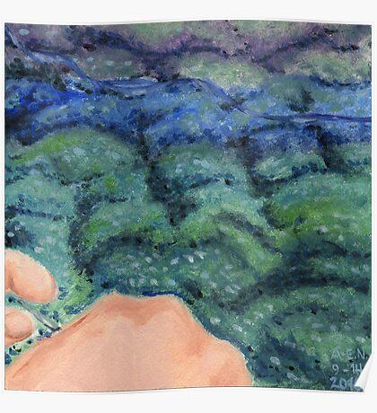 Knitting the Ocean Poster