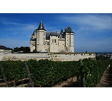 Castle in Saumur Photographic Print