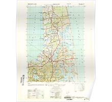 Massachusetts  USGS Historical Topo Map MA Orleans 351194 1946 25000 Poster