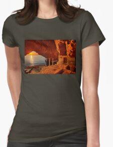La ermita de Estefania Womens Fitted T-Shirt