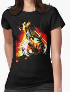 Exterior : Nakatomi Plaza Womens Fitted T-Shirt