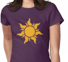 Tangled Kingdom Sun Womens Fitted T-Shirt