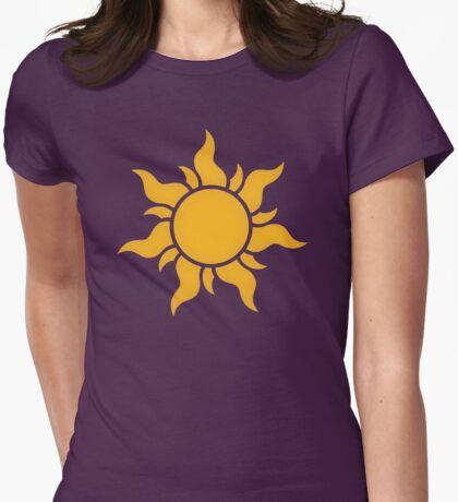 Tangled Kingdom Sun Womens Fitted T-Shirt
