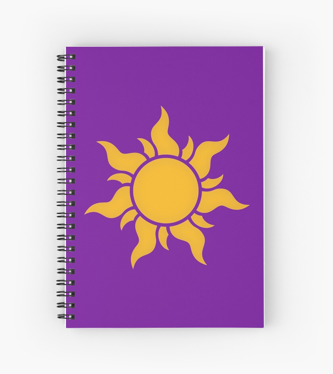 Quot Tangled Kingdom Sun Quot Spiral Notebooks By Expandable