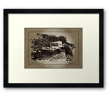 Le Mans Start Framed Print