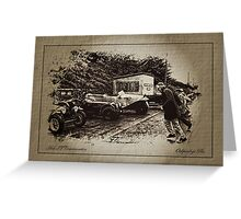 Le Mans Start Greeting Card