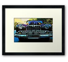 Lincoln's Grill Framed Print