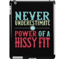 Hissy Fit iPad Case/Skin