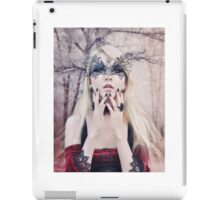 Maria Amanda - elven woman girl gothic iPad Case/Skin