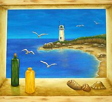 Lighthouse View by Allegretto