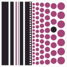 Purple Spots and Black Stripes by Victoria Ellis