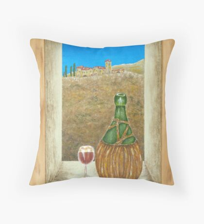 Sicilian View Throw Pillow