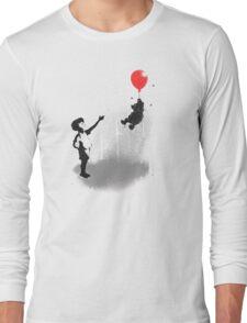 Little Black Rain Cloud Long Sleeve T-Shirt