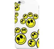 Smiley paw prints iPhone Case/Skin