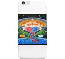 Spiritual Evolution, esoteric painting iPhone Case/Skin
