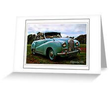 Hereford Coupe Greeting Card