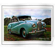 Hereford Coupe Poster