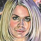 Doctor Who: Rose Tyler by marksatchwillart