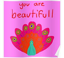 You Are Beautifull Poster