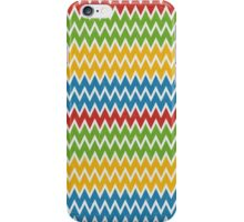 Multicolor Colorfull Zigzag Chevron iPhone Case/Skin