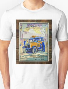 Vintage Taxi Sign T-Shirt