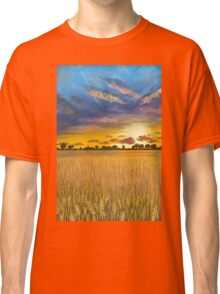 Ukranian sunset beautiful landscape Classic T-Shirt
