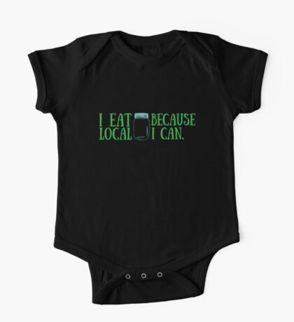 Local Eats One Piece - Short Sleeve