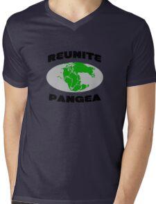 Reunite pangea geek funny nerd Mens V-Neck T-Shirt