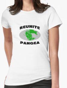 Reunite pangea geek funny nerd Womens Fitted T-Shirt