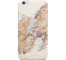 Massachusetts  USGS Historical Topo Map MA Gloucester 351727 1945 31680 iPhone Case/Skin