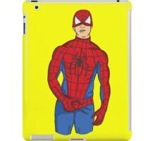 Spidy tease iPad Case/Skin