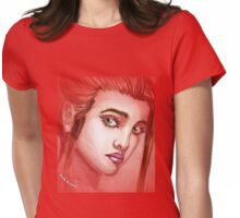 Green eyes - women's collection Womens Fitted T-Shirt