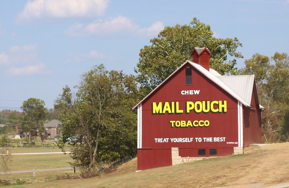 MAILPOUCH TOBACCO BARN #2 by Pauline Evans