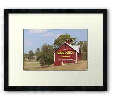 MAILPOUCH TOBACCO BARN #2 Framed Print