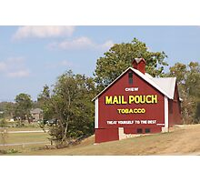 MAILPOUCH TOBACCO BARN #2 Photographic Print