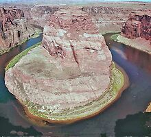 Horseshoe Bend, Colorado River, Arizona, USA by Adrian Paul