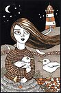 Eiligh's Light House by Anita Inverarity