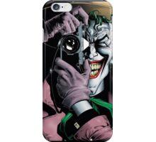 The Joker Killing Joke  iPhone Case/Skin