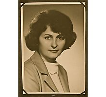 ❤‿❤ . My Mother - 1962 . Brown Sugar Life Book Story . Favorites: 2 Views: 806..  Bardzo dziękuję ! Thank you dear friends! Hold Your Memories. Buy what you like! Photographic Print