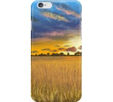 Ukranian sunset iPhone Case/Skin