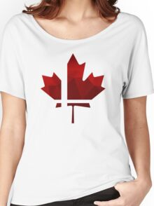 Smash Canada Women's Relaxed Fit T-Shirt
