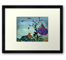 Lost Race Found Framed Print