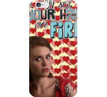 Season 5 Teen Wolf Greeting Cards [Lydia] iPhone Case/Skin