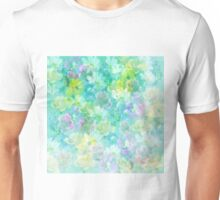 Enchanted Spring Floral Abstract Unisex T-Shirt