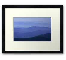 Great Iron Mountains Framed Print