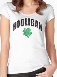 "Irish ""Hooligan"" Women's Fitted Scoop T-Shirt"
