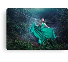 Forest queen mystic woman Canvas Print