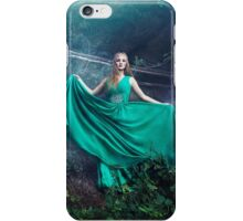 Forest queen mystic woman iPhone Case/Skin